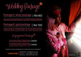Wedding Packages by zxara