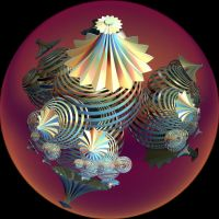 creation with stripe balls by Andrea1981G