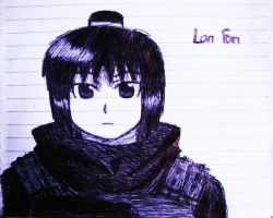 Lan Fan .::Pen::. by fullmetaledward01