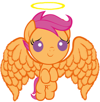 Baby Scootaloo Will Help You Feel Glorious by Beavernator