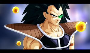 Raditz 1 by xenocracy