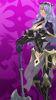 FE Heroes June Wallpaper 2 - Camilla by Kaz-Kirigiri
