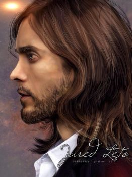 Jared Leto II by SPRSPRsDigitalArt