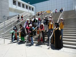 Anime Expo One Piece Gathering 11 by DelphiniumFleur