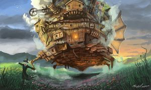 howl's moving castle by MO-SAID