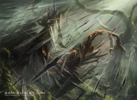 MTG: Rain of Thorns by samburley