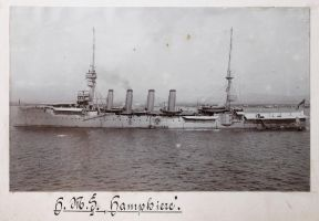 H.M.S. Hampshire 1912 by Deceptico