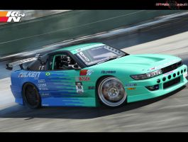 Nissan Sileighty - Falken Team by MurilloDesign