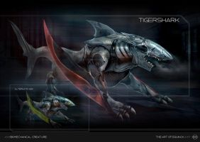 Tigershark Biomech by KM33