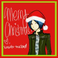 Merry Christmas from Mukuro by wasabi-mustard
