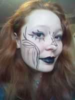 My oc / fanbot makeup research by steampunkedfox