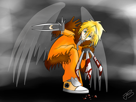 Kenny the killer angel by Timeless-Knight