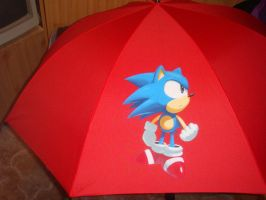 Sonic Umbrella by Sega-Club-Tikal