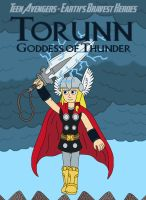 Torunn, Goddess of Thunder by MCsaurus