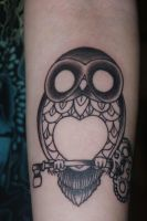 Owl Tattoo by FrauErdmann