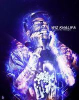 Wiz Khalifa by YoungBugzy