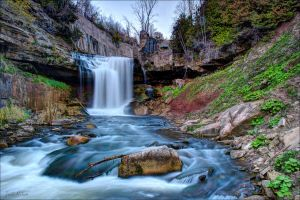 Cataract Falls by Jack-Nobre