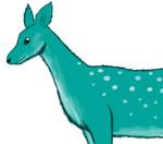 Teal Deer by BrookRiver