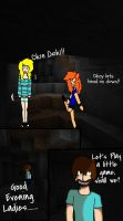 Minecraft Comic: United Miners Page 3 (2/2) by TigerLily45