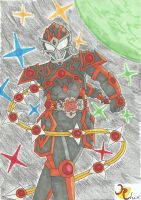 Kamen Rider Constellar Battle Mode by RiderRhix