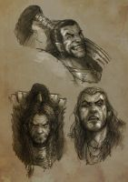 Sketches and emotion by sharlin