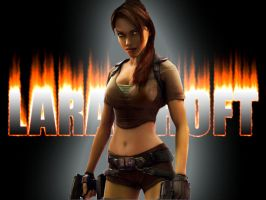 Lara Croft by Glocken