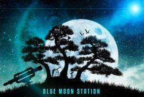 Blue Moon Station by crilleb50