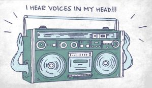 I hear voices in my head by Artrositi
