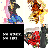 no music, no life. by NISSHIE