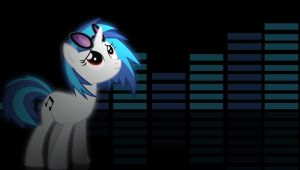 Vinyl Scratch wallpaper 2 by Chaz1029