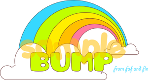 Rainbow Bump by bombthemoon