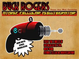 Buck Rogers Atomic Cellular Disintegrator by sixgun-fighter
