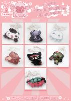 7 New Kawaii Necklaces! Now in store! by TomodachiIsland