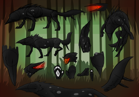 Blindhounds - Reference by Wolframclaws