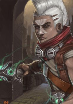 Ekko, the Boy Who Shattered Time by HAF-2