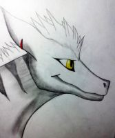 Saphoras Arterius Dragon sketch by Nightfury-Treann