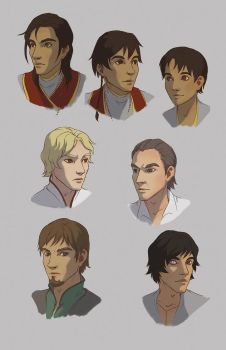 Inquisitors of Harth - Busts 01 by Evelar