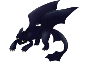 toothless by Radette
