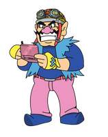 Wario Vector by pikmin789