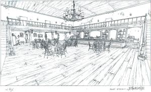 Saloon interior 2 by DanNortonArt