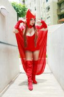 SCARLET WITCH Chaos Magic by dashcosplay