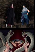 Naruto 578 - Itachi and Sasuke VS Kabuto by Dldimartiny