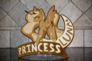 Laser Cut - Princess Luna by DarkFlame75 by Earth-Pony