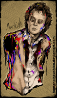 Brad Dourif as Remo Lacey by HumanPinCushion