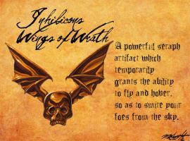 Heretic Artifacts: Inhilicon's Wings of Wrath by Liamythesh