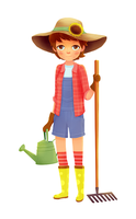 Gardener by boOnsai