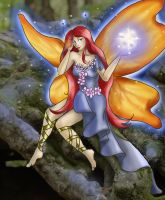 Halloween - Iolanthe as a Fairy by girl-n-herhorse