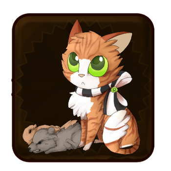 GC: Chocolate Cat by Moonblizzard