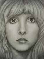 Stevie Nicks Close-Up. by TylerRenee