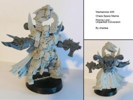 Khorne Lord Unpainted Conversion by chaotea
